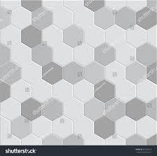 3d hexagon tile brick pattern decoration stock vector 204266173