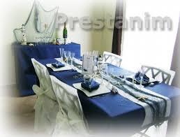 mariage bleu et blanc mariage mer decoration mariage theme mer bleu blanc