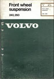 volvo maintenance and repair manuals
