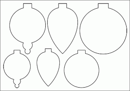bauble templates printable printable template 2017 with regard