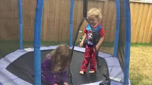 little tykes 7 foot first trampoline review familyfun youtube