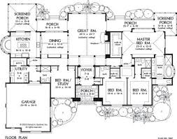 house plans one level home office
