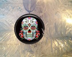 day of dead ornaments etsy