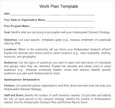 work plan template 12 download free documents for word excel pdf
