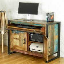 Reclaimed Office Furniture by Entrap Reclaimed Wood Office Furniture With Corner Wooden Home