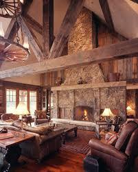 Best Log Cabin Design Images On Pinterest Log Cabins Cabin - Western style interior design ideas