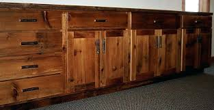 Wooden Kitchen Cabinet Doors Barn Wood Kitchen Cabinets Snaphaven