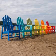 Plastic Beach Chairs Polywood Long Island Recycled Plastic Adirondack Rocking Chair