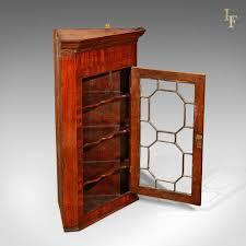 Antique Corner Cabinets Georgian Glazed Antique Corner Cabinet C 1800 U2013 London Fine Antiques