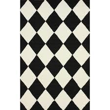 ebay area rugs floor rug outdoor rug diamond pattern black and white ebay