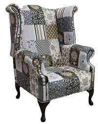 Chesterfield Sofa Patchwork Chesterfield Patchwork Jubilee 1780 U0027s Queen Anne Wing Chair
