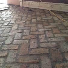 Brick Floor Kitchen by Best 20 Brick Pavers Ideas On Pinterest Paver Patterns Brick