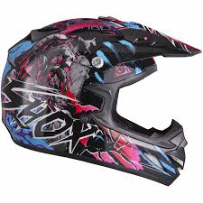 motocross helmet graphics shox mx 1 nightmare motocross atv quad off road pit bike moto x