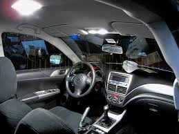 08 up subaru impreza 5 door led interior lights 3 bulbs