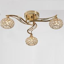 gold ceiling light fixtures diyas uk leimo il il30963 french gold crystal three l ceiling light