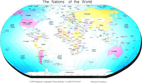 world map political with country names continent clipart labeled pencil and in color at map of the world
