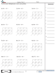 multiplying multi digit numbers worksheet worksheets