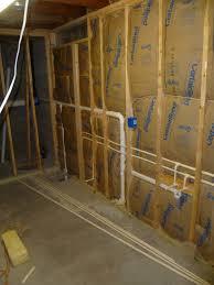 installing basement bathroom plumbing new basement and tile image of diy basement bathroom plumbing