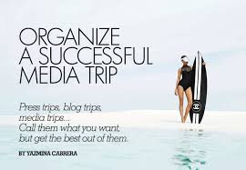 Organize Media by How To Organize A Successful Media Trip An Introduction