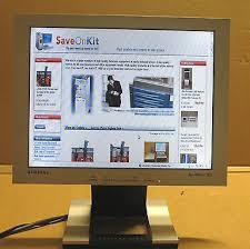 Samsung Desk Samsung Syncmaster 152s 15 Lcd Monitor Vga Silver Display Desk Top