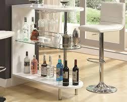 White Pub Table Set - plainfield contemporary bar furniture store