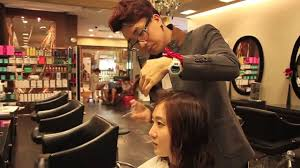 korean hairstylist edward kim hair cut u0026 styling tutorial youtube