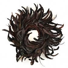 halloween black feather wreaths halloween wikii