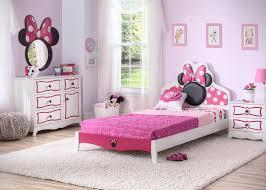 Bedroom Furniture Design Ideas by Disney Minnie Mouse Bedroom Set With Bonus Toy Organizer Walmart