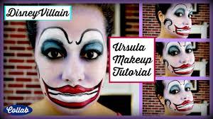 the little mermaid disney villain ursula makeup tutorial collab