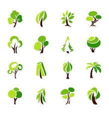 tree logo vector images 15 000