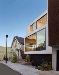 Split House Modern Four Storey House Design Idea Built On Narrow Site Home