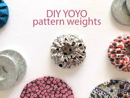 diy pattern weights on craftsy