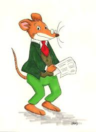 geronimo stilton by metalcams on deviantart art and crafts