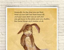 velveteen rabbit nursery velveteen rabbit wall velveteen rabbit print nursery