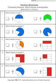 collections of fraction maths worksheets easy worksheet ideas
