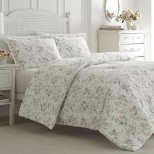 rosalie pink cotton flannel comforter set free