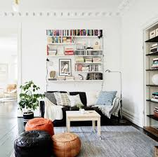 white home interior industrial minimal inspiration swedish