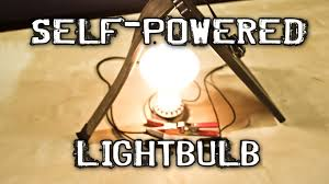 What Is A Led Light Bulb by Self Powered Light Bulb Youtube