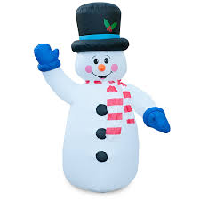 Snowman Lawn Decorations Christmas Snowman Outdoor Inflatables Christmas Wikii