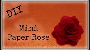 how to make mini paper rose for doll beauty and beast enchanted