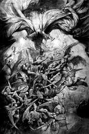 fallen vs demons vs demons drawings http