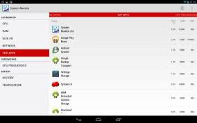 system monitor apk system monitor lite apk free tools app for android