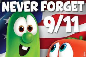 veggie tales tweets 9 11 tribute