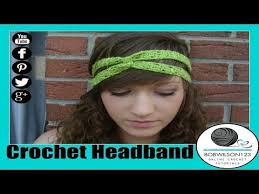 hairstyles with haedband accessories video 14 best crochet headbands patterns and video tutorials images on
