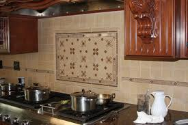eureka kitchen ornate tile backsplash behind stove jpg 545 363
