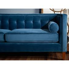 Teal Tufted Sofa by Teal Tufted Sofa Ira Design
