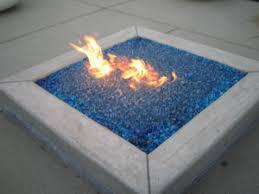Glass Firepits Glass Fireglass Fireplace And Pit Glass Blue Geen