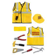 Halloween Costume Construction Worker Kids Construction Worker Costume Worker Role Play Toy Career