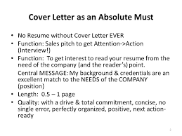 abc of cover letter your crucial sales pitch to get to an