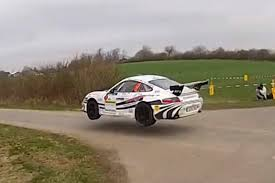 rally porsche 911 porsche 911 rally car catching some serious air